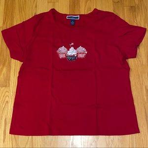Like New! Women's 1X Patriotic T-Shirt